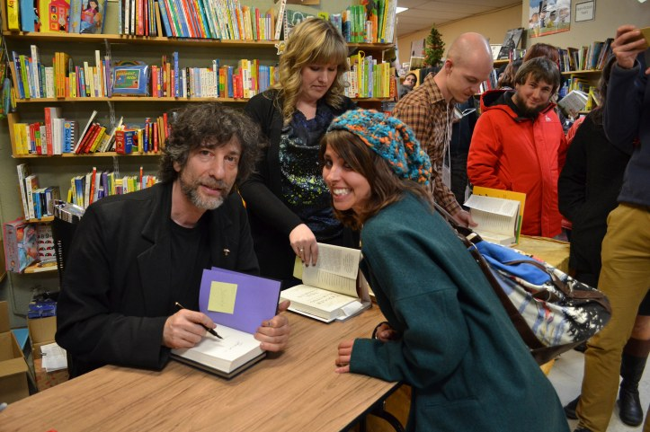 gaiman event shot