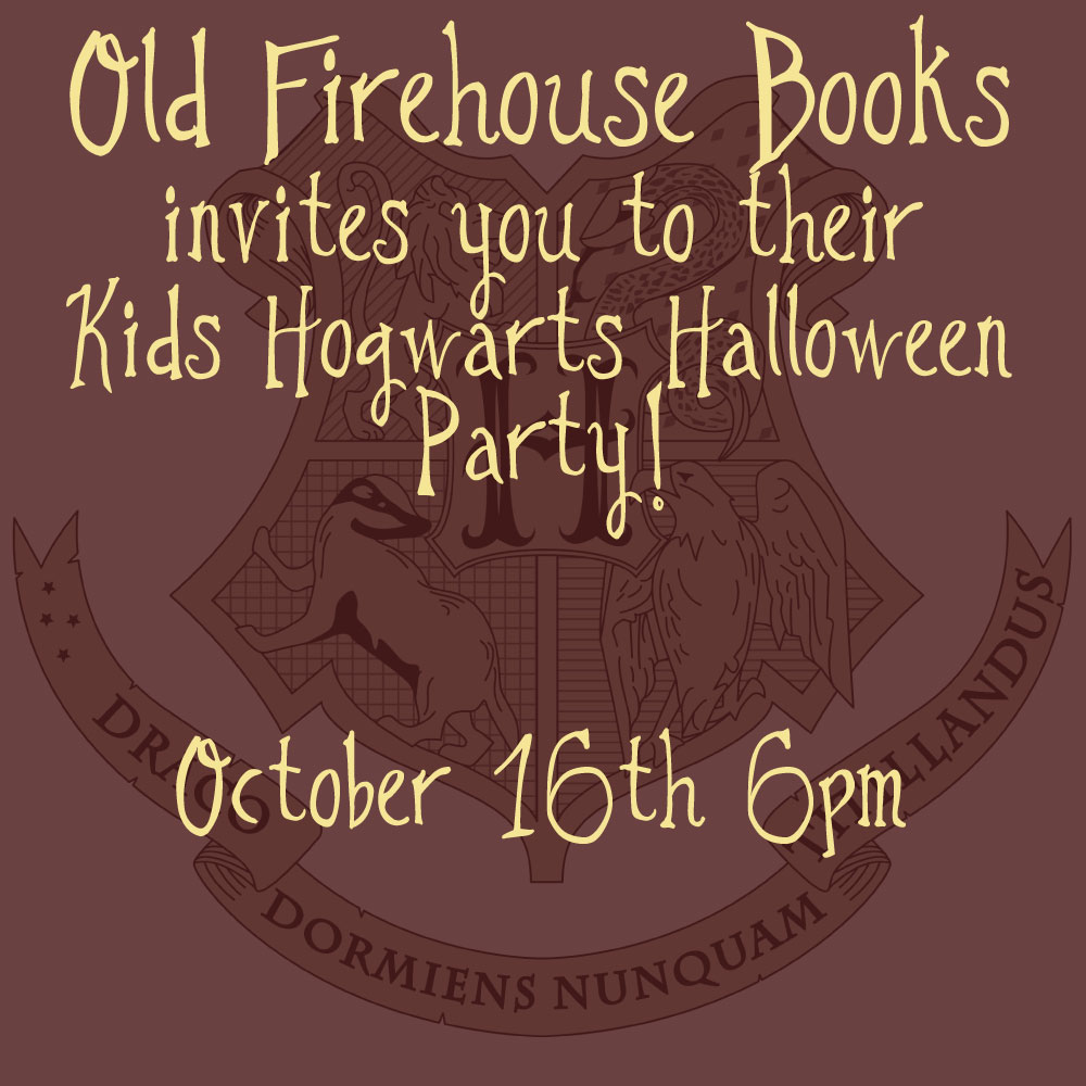 Halloween Book Costumes- post 1 – Old Firehouse Books