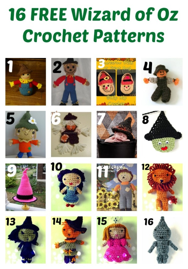 16-free-wizard-of-oz-crochet-patterns-Collage-thesteadyhandblog